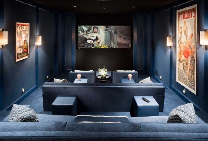 Tips Mendekorasi Home Theater