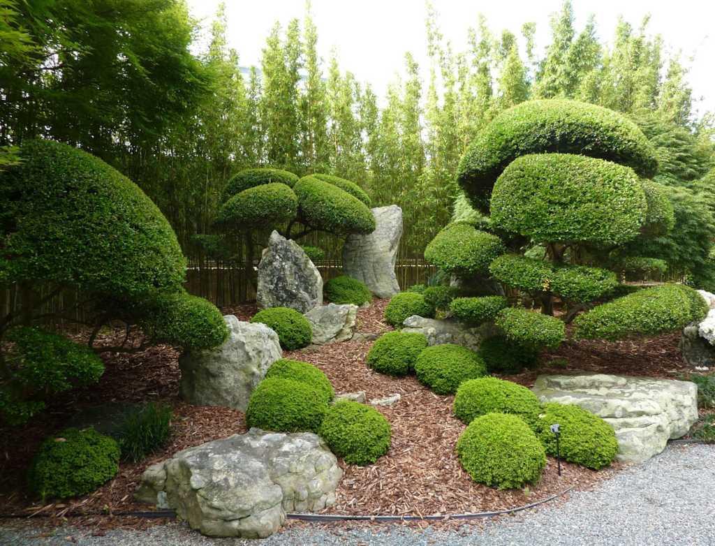 Desain taman ala Jepang
