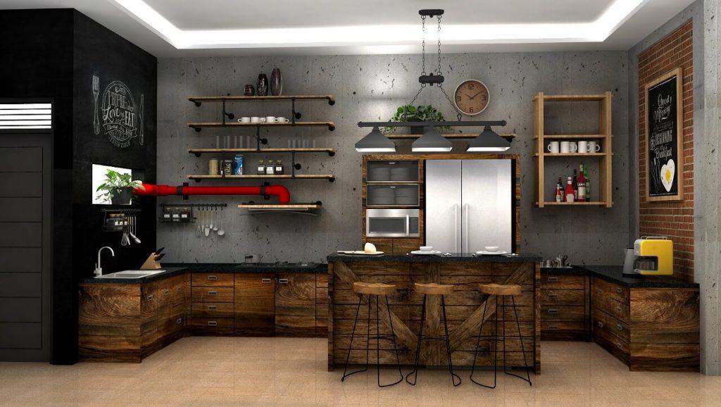 Kitchen set industrial
